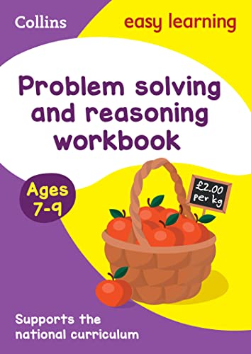 Problem Solving and Reasoning Workbook Ages 7-9 By Collins Easy Learning