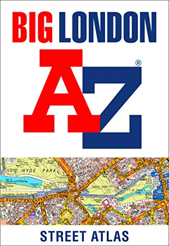 Big London A-Z Street Atlas By A-Z maps