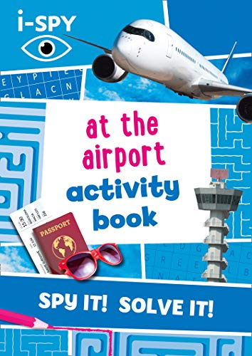 i-SPY At the Airport Activity Book By i-SPY