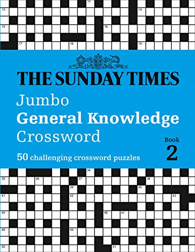 The Sunday Times Jumbo General Knowledge Crossword Book 2 By The Times Mind Games
