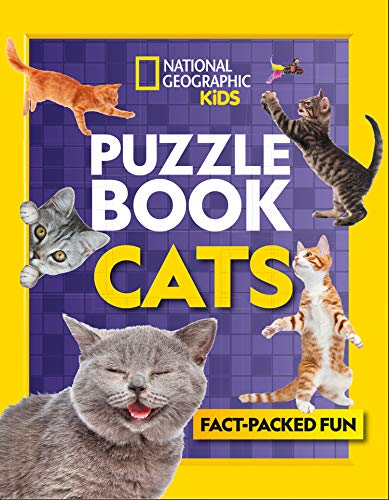 Puzzle Book Cats By National Geographic Kids