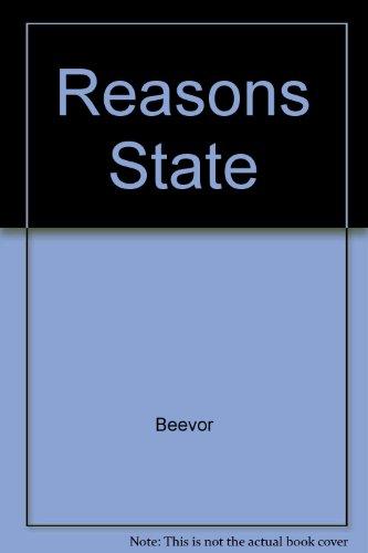 Reasons State By Antony Beevor