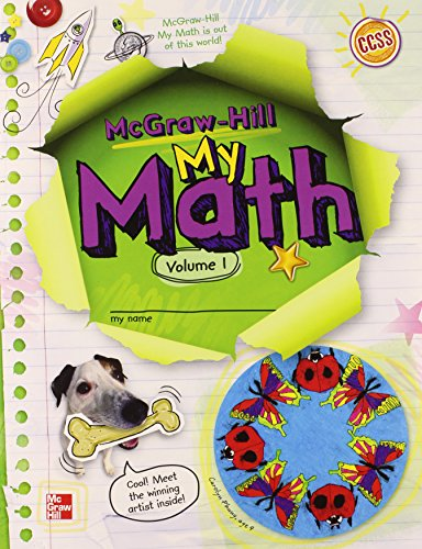 McGraw-Hill My Math, Grade 4, Student Edition, Volume 1 By McGraw-Hill Education