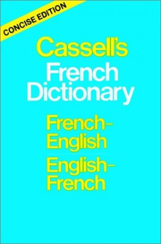 Cassell's French Dictionary Concise Edition By Douglas