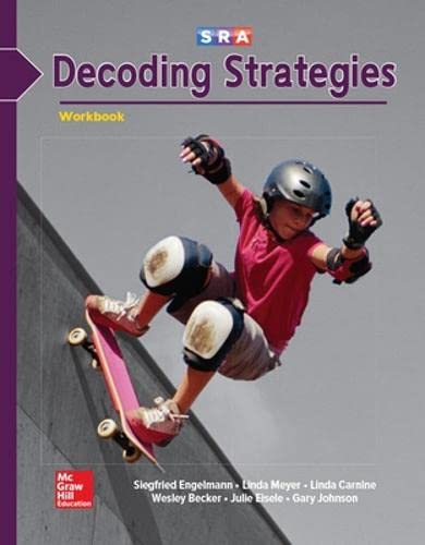 Corrective Reading - Decoding B1 Student Workbook By McGraw Hill