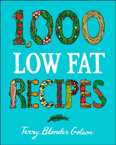 1000 Lowfat Recipes By Terry Blonder Golson