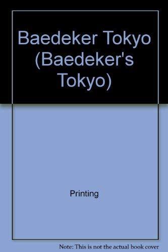 Baedeker Tokyo By Printing