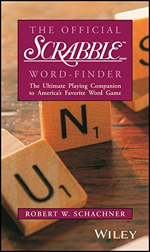 The Official Scrabble Word-Finder By Robert W. Schachner
