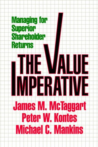 Value Imperative By James M. McTaggert