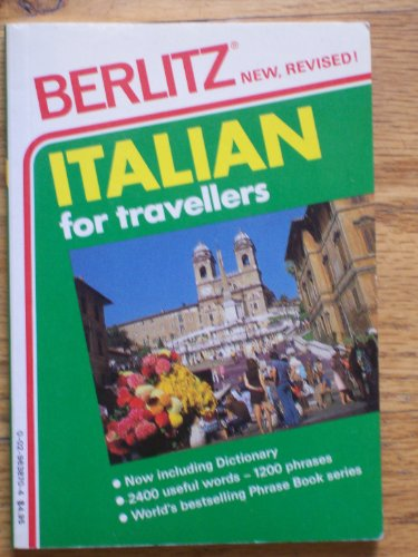 Italian for Travellers Revised Edition By Berlitz Guides