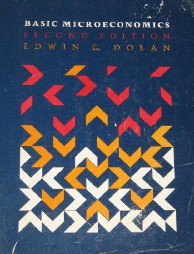 Microeconomics by Edwin G. Dolan