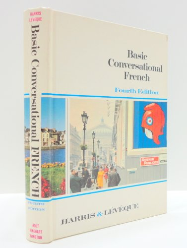 Basic Conversational French By Julian Harris