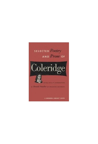 Selected Poetry and Prose By Samuel Taylor Coleridge