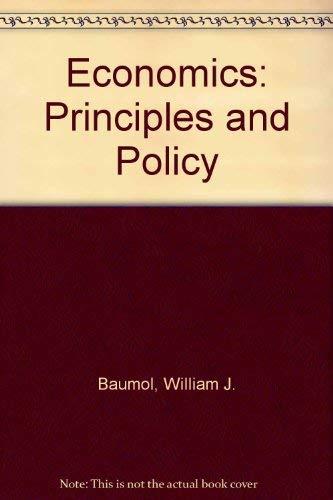 Economics By William J. Baumol