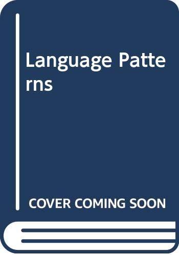 Language Patterns - Stage 5: Anthologies: Along the Way