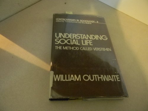 Understanding Social Life By William Outhwaite