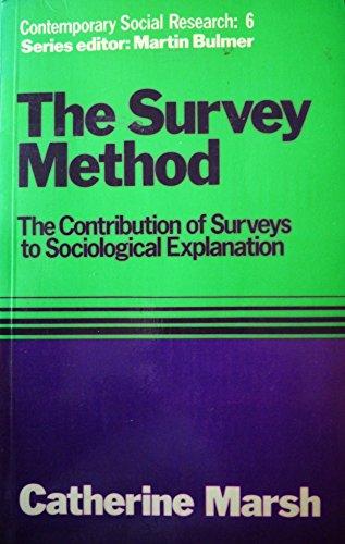 Survey Method By Catherine Marsh
