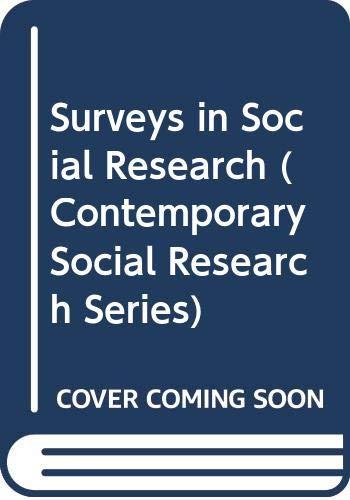 Surveys in Social Research By D.A.De Vaus