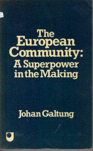 The European Community By Johan Galtung