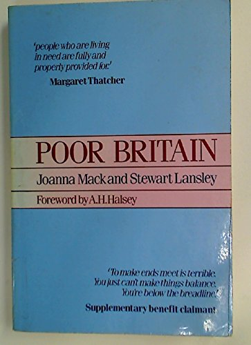 Poor Britain By Joanna Mack