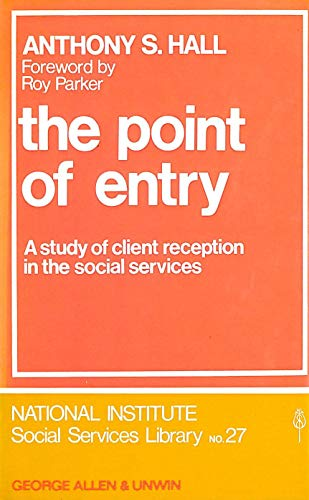 Point of Entry By Anthony S. Hall