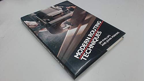 Modern Routing Techniques by Perkins, J. Hardback Book The Cheap Fast Free Post