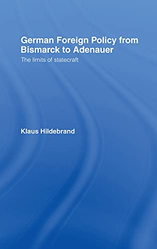 German Foreign Policy By Klaus Hilderbrand