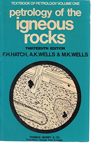 Textbook of Petrology By F. H. Hatch