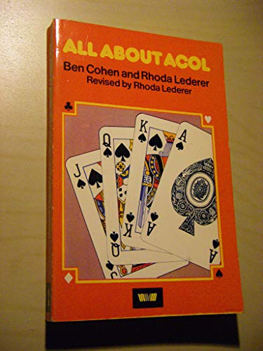 All About Acol by Ben Cohen