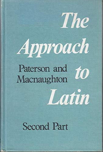 Approach to Latin By James Paterson