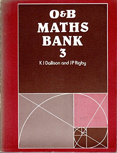 Mathematics Bank By K.J. Dallison