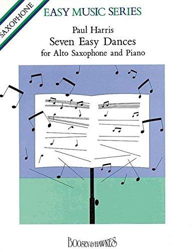 Seven Easy Dances Saxophone By Michael Harris