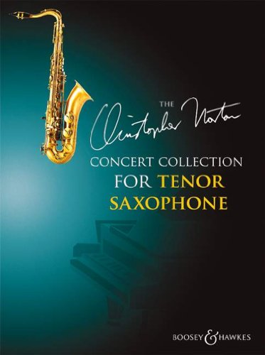 Concert Collection for Tenor Saxophone - 15 original pieces - Tenor Saxophone - ( BH 12626 ) By Christopher Norton