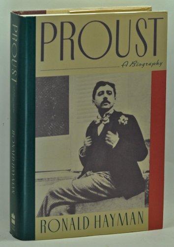 Proust By Mr Ronald Hayman
