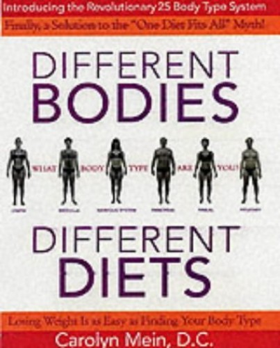 Different Bodies, Different Diets By Carolyn L. Mein