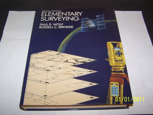 Elementary Surveying By Russell C. Brinker