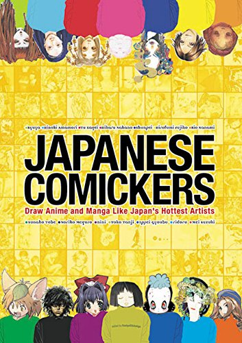 Japanese Comickers By Comickers Magazine
