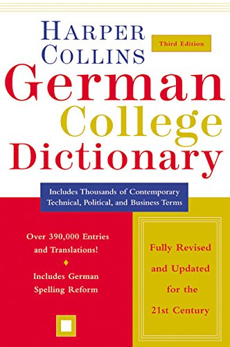 Collins German-English, English-German Dictionary By Stuart Fortey