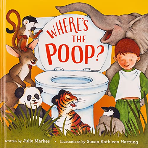 Where's the Poop By Julie Markes