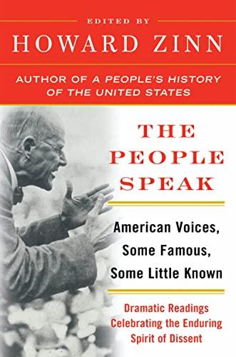 The People Speak By Howard Zinn