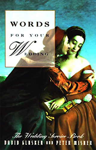 Words for Your Wedding By David Glusker