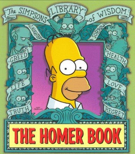 The Homer Book By Matt Groening