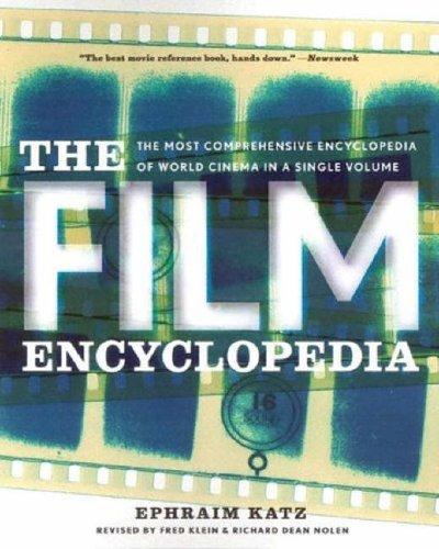 Film Encyclopedia By Ephraim Katz
