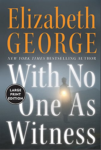 With No One as Witness LP By Elizabeth George