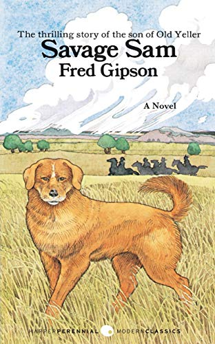 Savage Sam By Fred Gipson