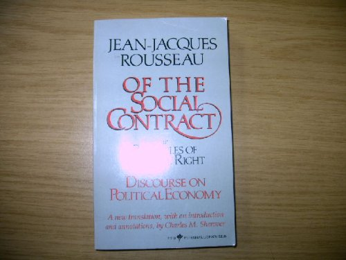 Social Contract By Jean-Jacques Rousseau