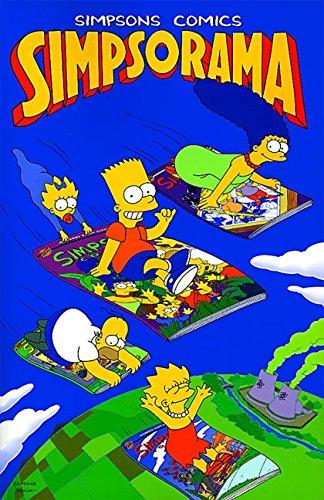Simpsons Comics Simpsorama By Matt Groening
