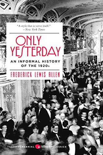 Only Yesterday By Allen