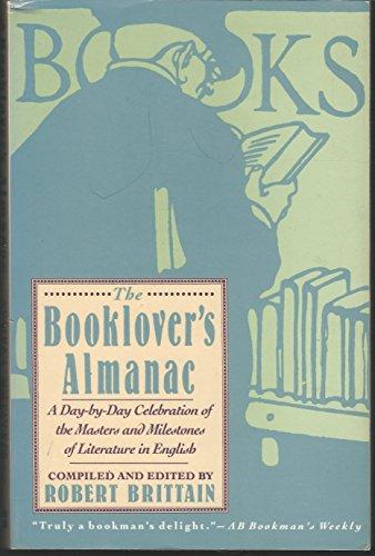 Booklover's Almanac By Robert Brittain