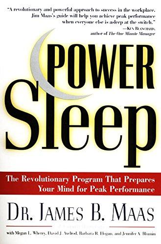 Power Sleep By James Maas